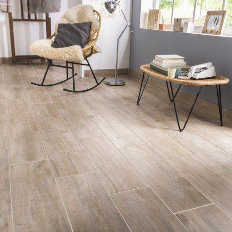 carrelage sol et mur naturel effet bois oural l20 x l604 cm leroy merlinimitation parquetparquet - Salon Carrelage Imitation Parquet
