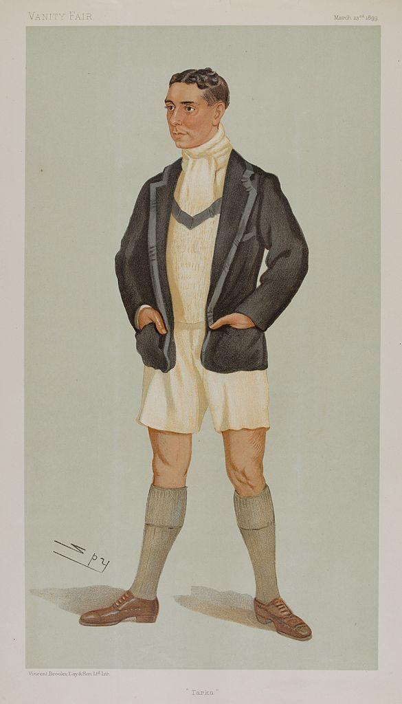 By Ape Fencing VANITY FAIR SPY CARTOON Lt-Col Henry Stracey /'Henry/' 1880