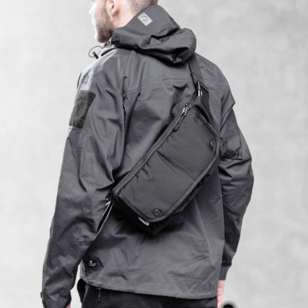 Waist Bag Black DSPTCH | Waist bag, Fashion, Sling bag