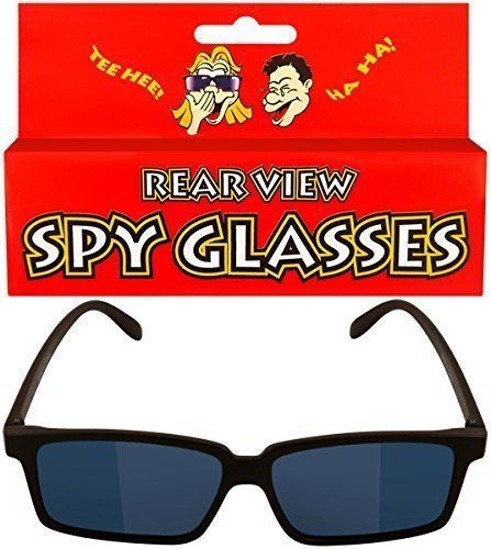 CHILDREN KIDS REAR VIEW SPY GLASSES MIRROR SEE BEHIND YOU!!