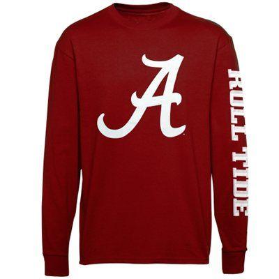 Alabama Crimson Tide Mascot Pride Long Sleeve T-Shirt – Crimson $25 Large