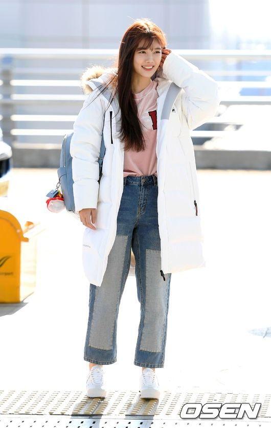 Check Out Kim Yoo Jung's Airport Departure Photos | Koogle TV