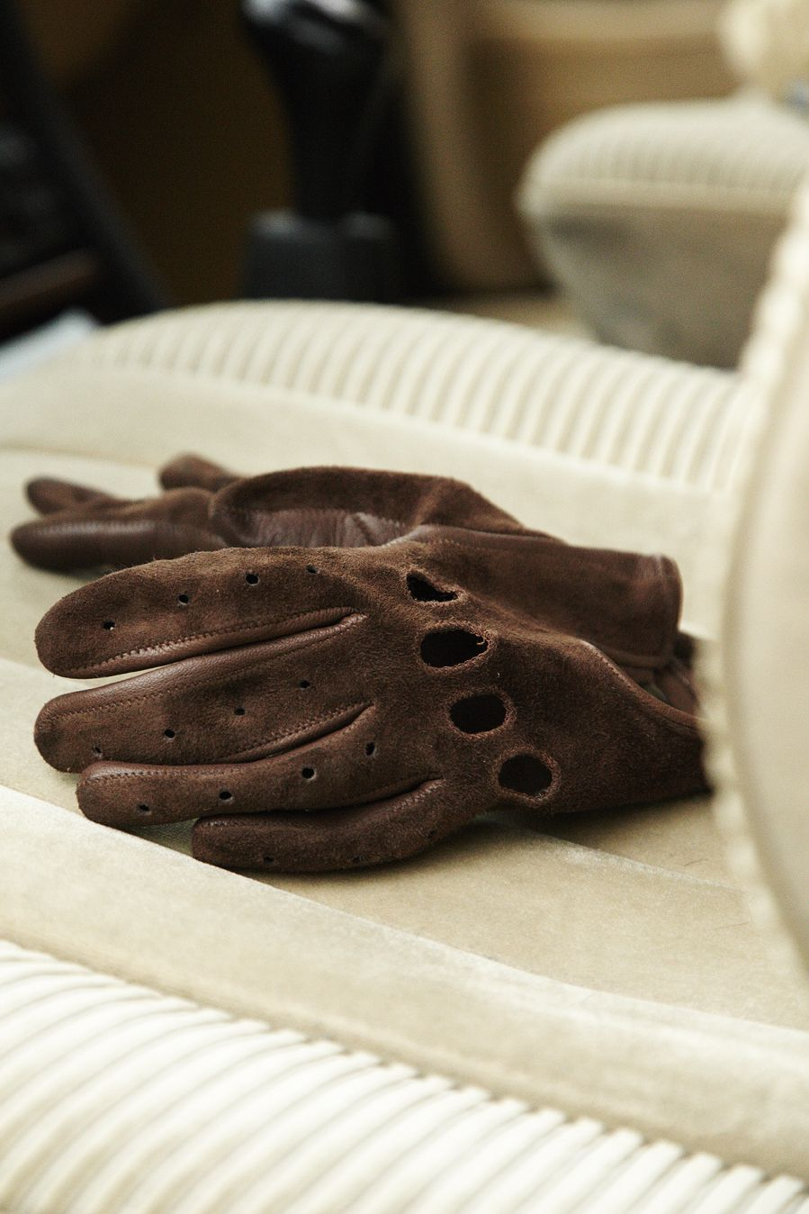Leather driving gloves mercedes - Szarmant Driving Gloves In Suede Http Www Szarmant Pl