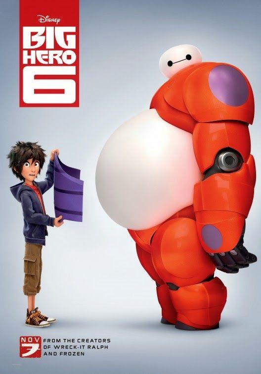 """EL ARTE DEL CINE: ESTRENO EN BLURAY/DVD: Disney´s """"Big Hero 6"""" (2014)"""