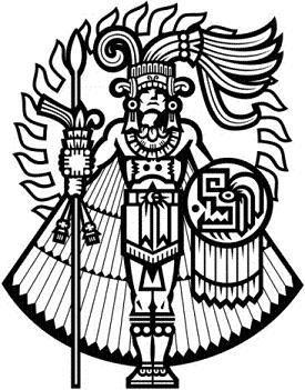 371318 40625 15 Jpg 275 351 Mayan Art Aztec Symbols Aztec Art