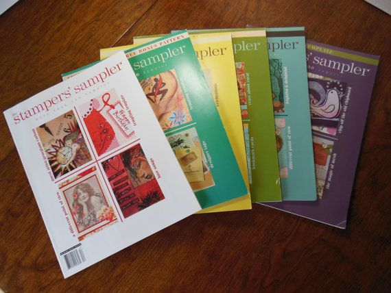 2007 Collection of Stamper's Sampler magazines