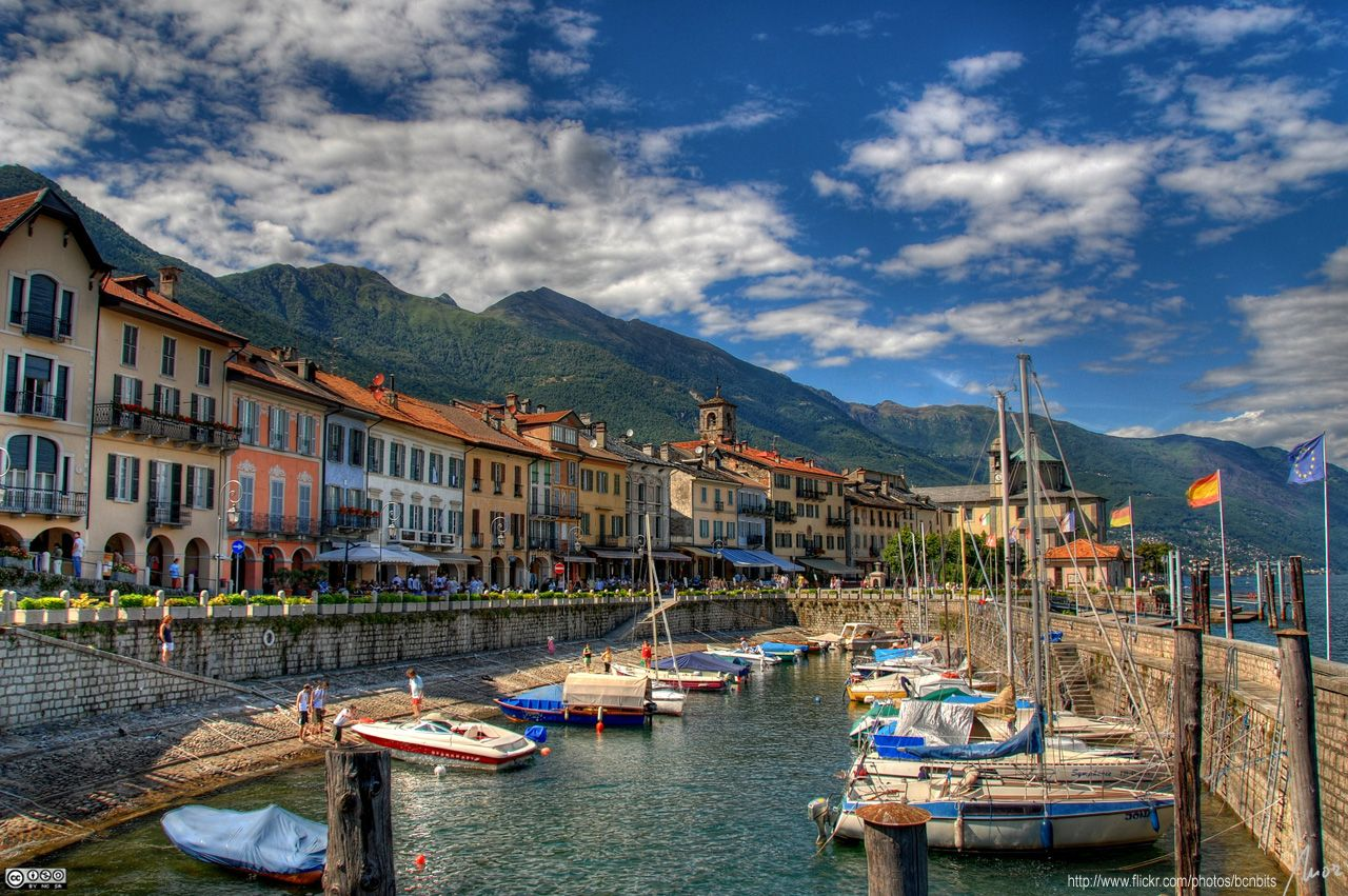 Cannobio on Lago Maggiore Italy by MorBCN (met