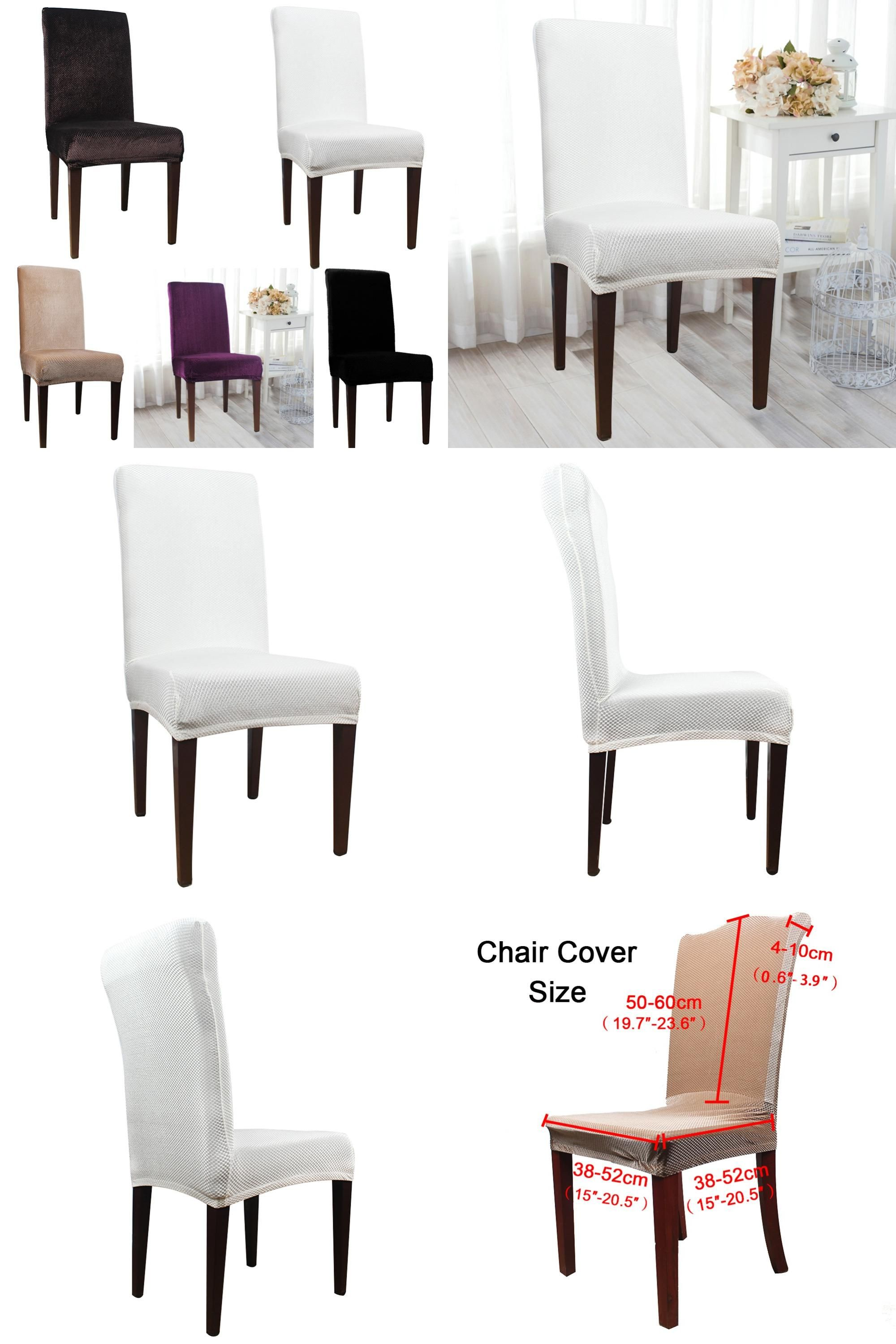 Visit to Buy Universal Polyester Stretch Chair Cover Spandex