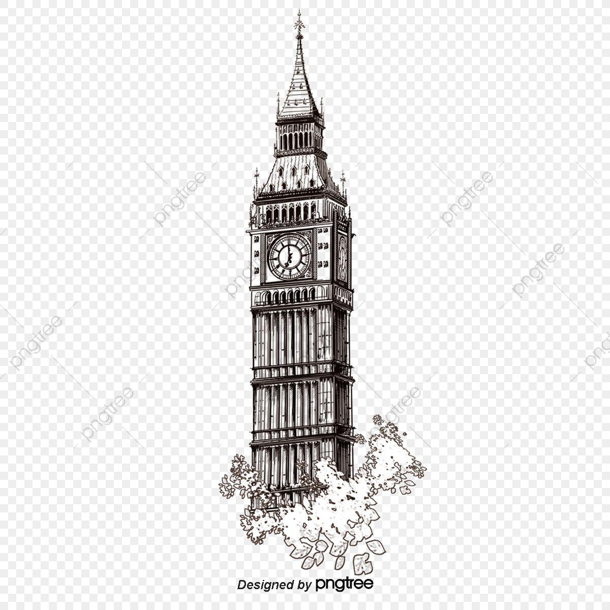 British Landmark London Big Ben Silhouette Big Ben Architecture Png Transparent Clipart Image And Psd File For Free Download Big Ben London Big Ben London Landmarks