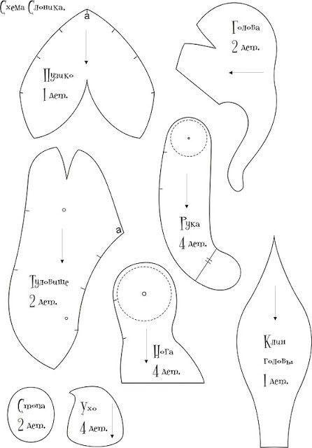Pin by VÍG KATI on FIGURA | Pinterest | Animal sewing patterns ...