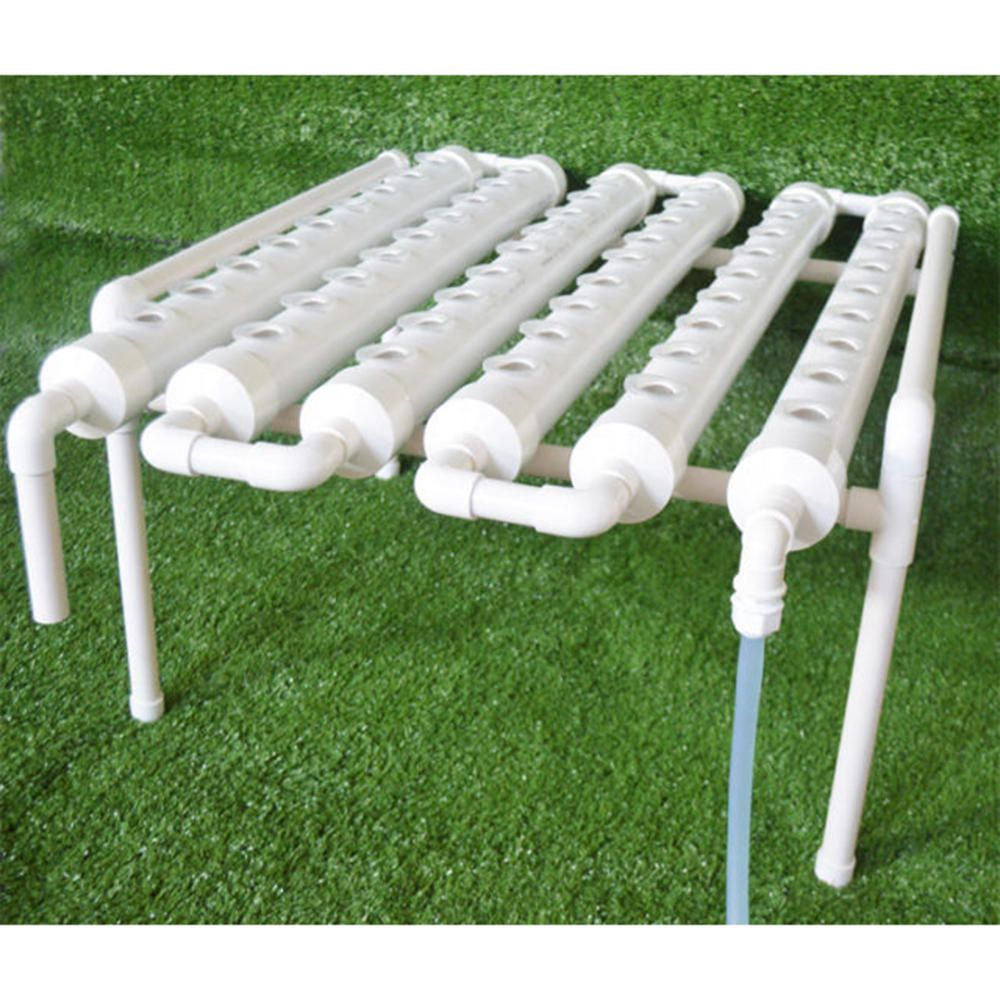 54 Holes Horizontal Hydroponic Piping Site Grow Kit Flow Dwc Deep Water Culture Planting Box System Lab Scientific Supplies From Industrial Scientific On Ba Hydroponics Grow Kit Hydroponic Grow Kits