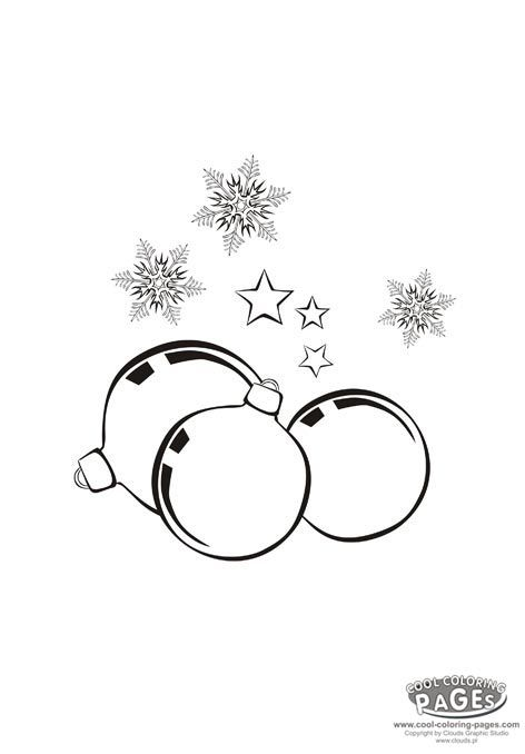 Christmas Glass Balls Christmas Coloring Pages Pinterest Glass