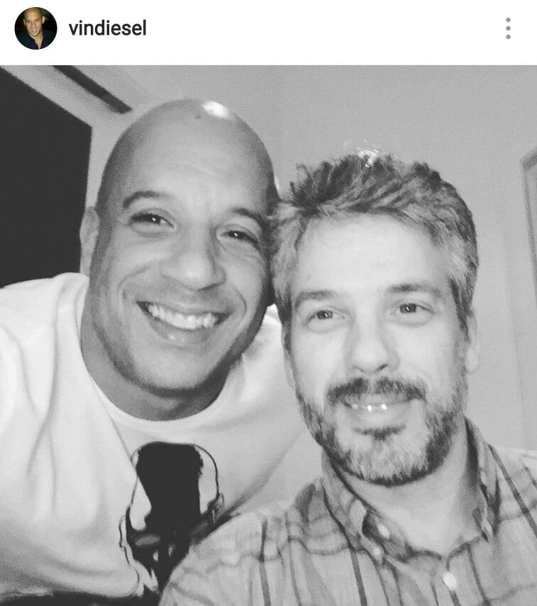 Vin Diesel And His Twin Brother Paul Vin Diesel Twin Vin Diesel