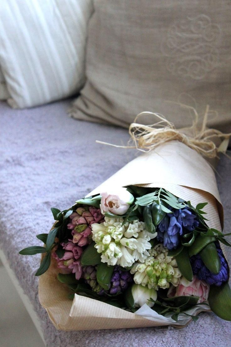 Beautiful Bouquet Of Mixed Flowers Bouquet Flowers Styling