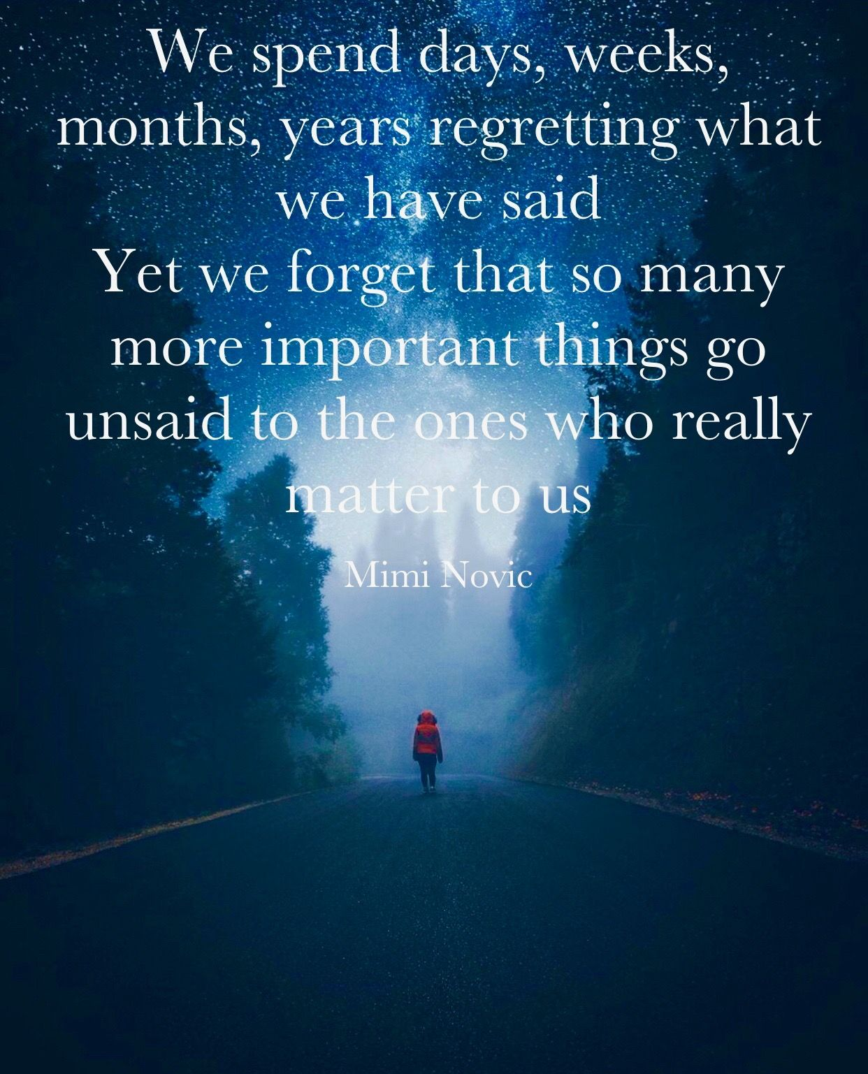 Quotes Of Inspiration And Hope And Love: Inspiring Quotes By Mimi Novic No Regrets Lost Love