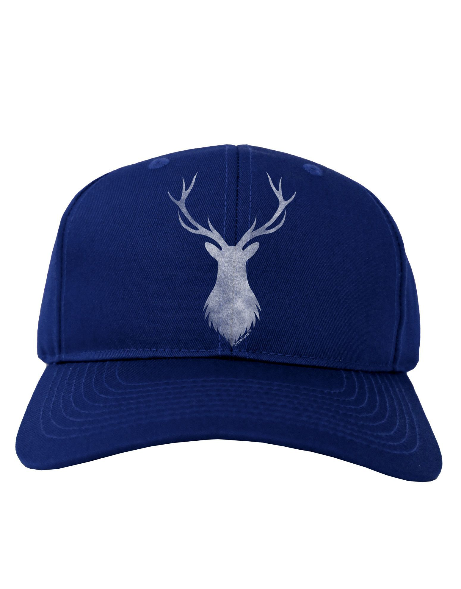 TooLoud Majestic Stag Distressed Adult Dark Baseball Cap Hat