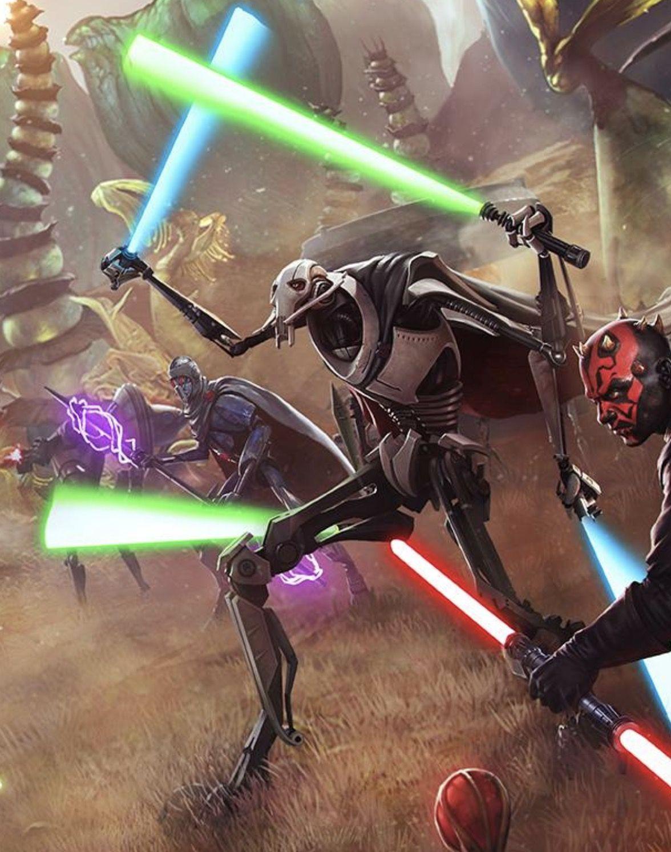 General Grievous Force Arena Star Wars Pictures Star Wars Art Star Wars Images