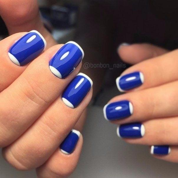 Ideas de manicura en tonos azul Burlap Wreaths Pinterest