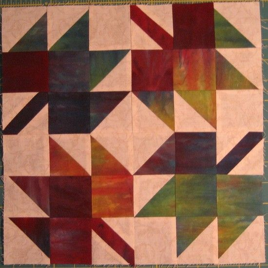 Free #quilt block tutorial: Maple Leaves http://quiltinggallery ... : maple leaf quilt patterns - Adamdwight.com