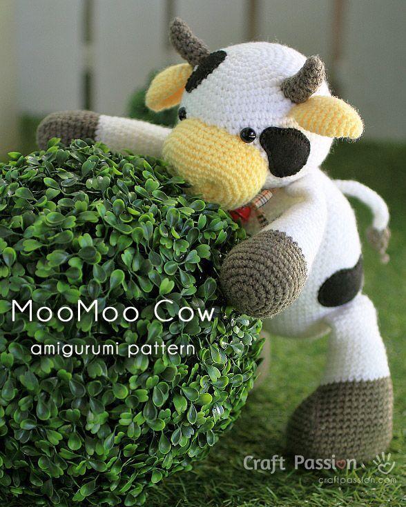Ravelry: cow amigurumi pattern by Lanas y ovillos | 735x588