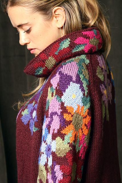 floral jacket pattern