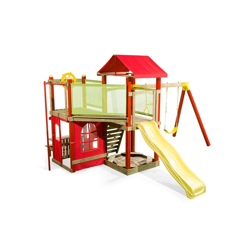 Ssc Playground Equipment Windsor Play Set Area Outside Kids Climbing Frame Plastic
