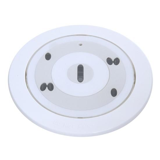 Flush Mount Smoke Detector Home Security Smoke Alarms