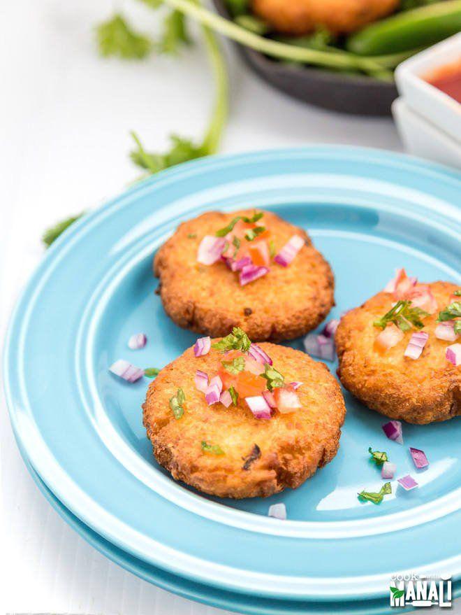 crispy aloo tikki is popular indian street food these deep fried potato patties are often on hebbar s kitchen recipes aloo tikki id=81724