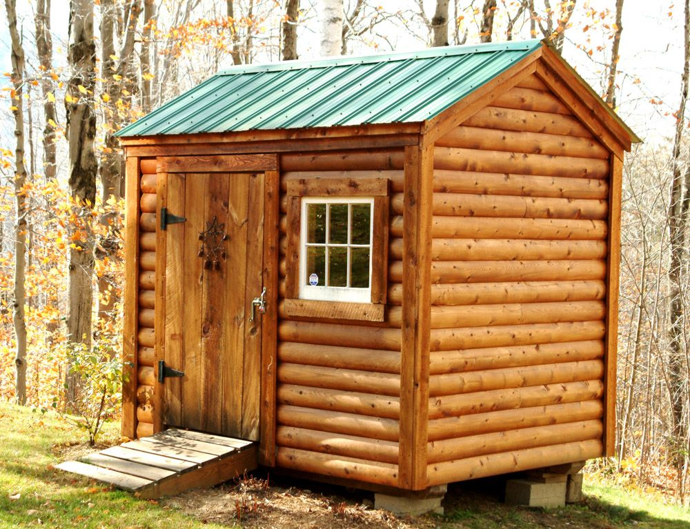 Nantucket Log Cabin Sheds Shed Diy Shed 400 x 300