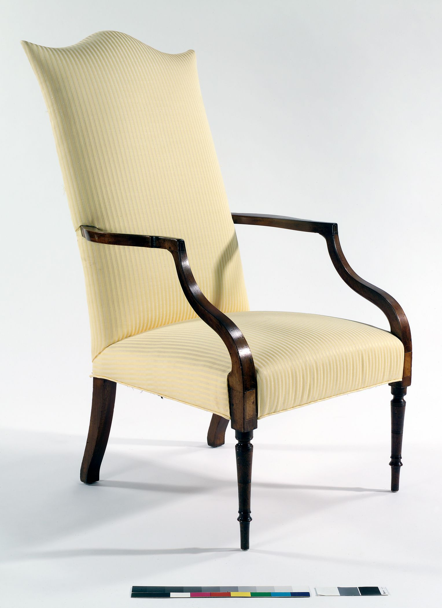 C1800 Federal Lolling Chair, Portsmouth, NH, Mah, 46t, Winterthur.