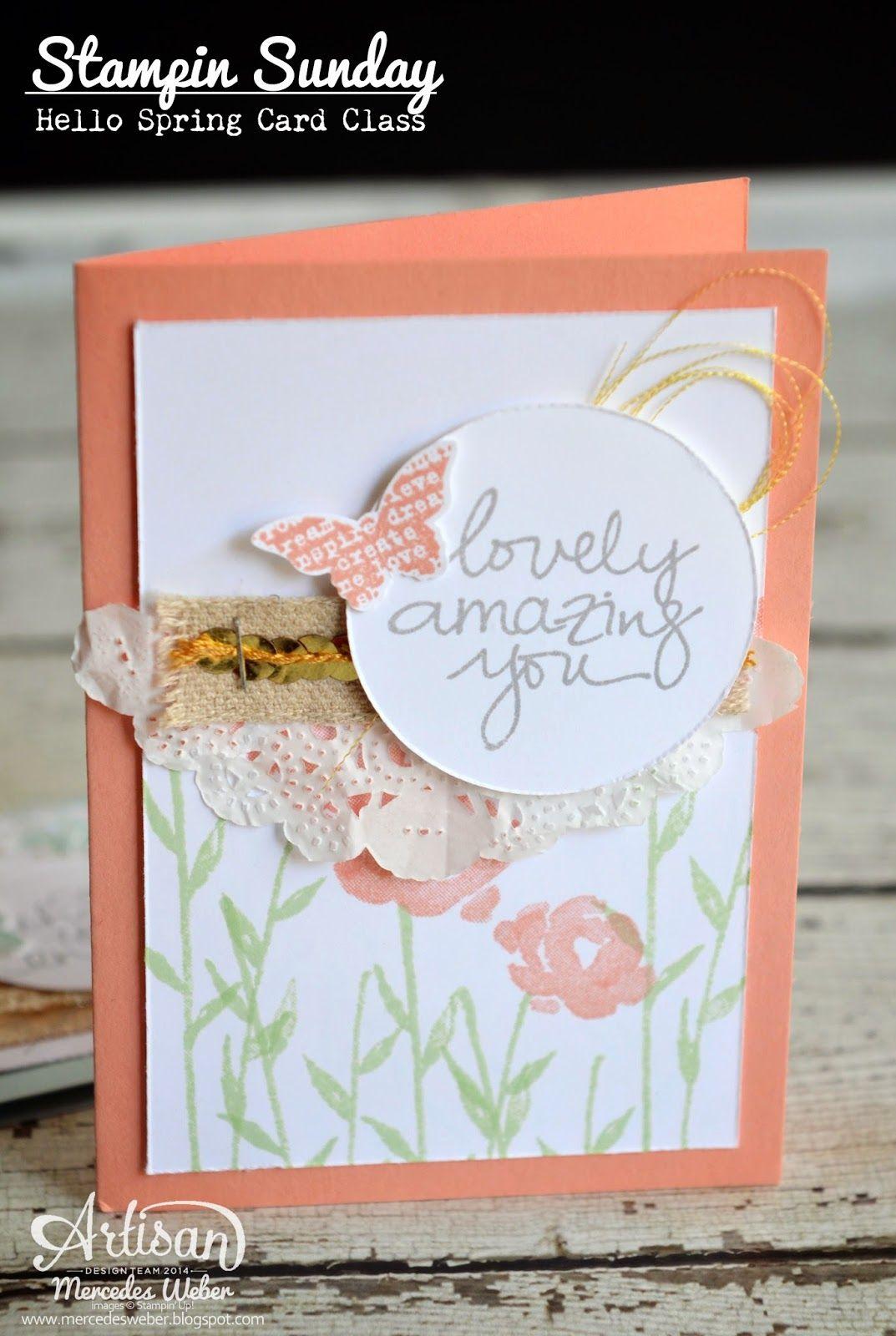 Lovely AmazingYou, Butterfly Basics, Painted Petals, Butterflies, Flowers