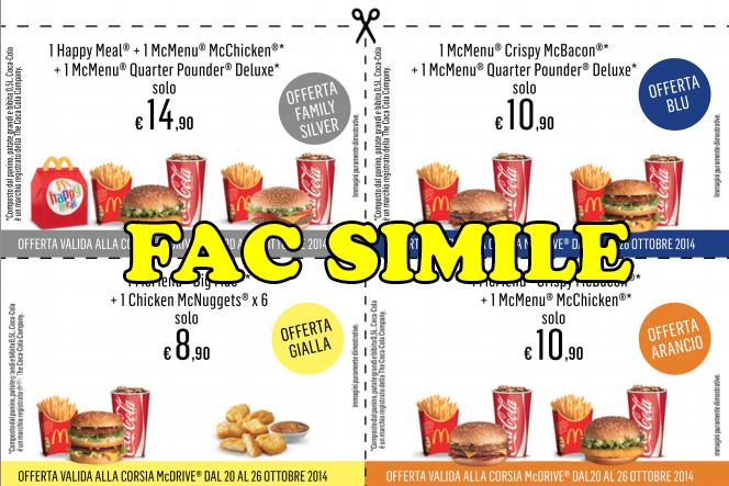 Mcdonalds coupons mcdrive