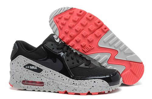 classic fit check out first look Women's And Men's Nike Air Max 90 A Starry Sky Lover Black Gray ...