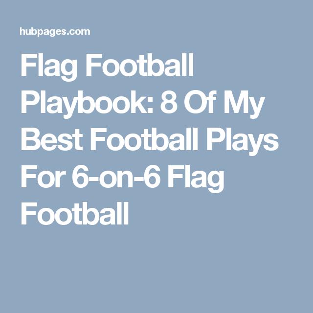 Pin On Flag Football