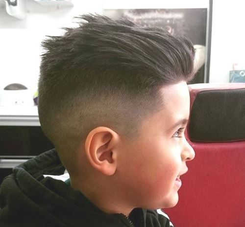 Fashionable Mens Haircuts. : shaved sides haircut for little boys