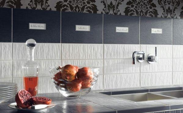 Küchenrückwand Ideen Fliesen Küche Pinterest - fliesen für küchenwand