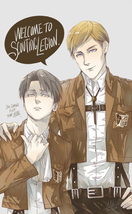 Rq: Engaged Past - Sad!Levi x Reader x Erwin by rivokko on