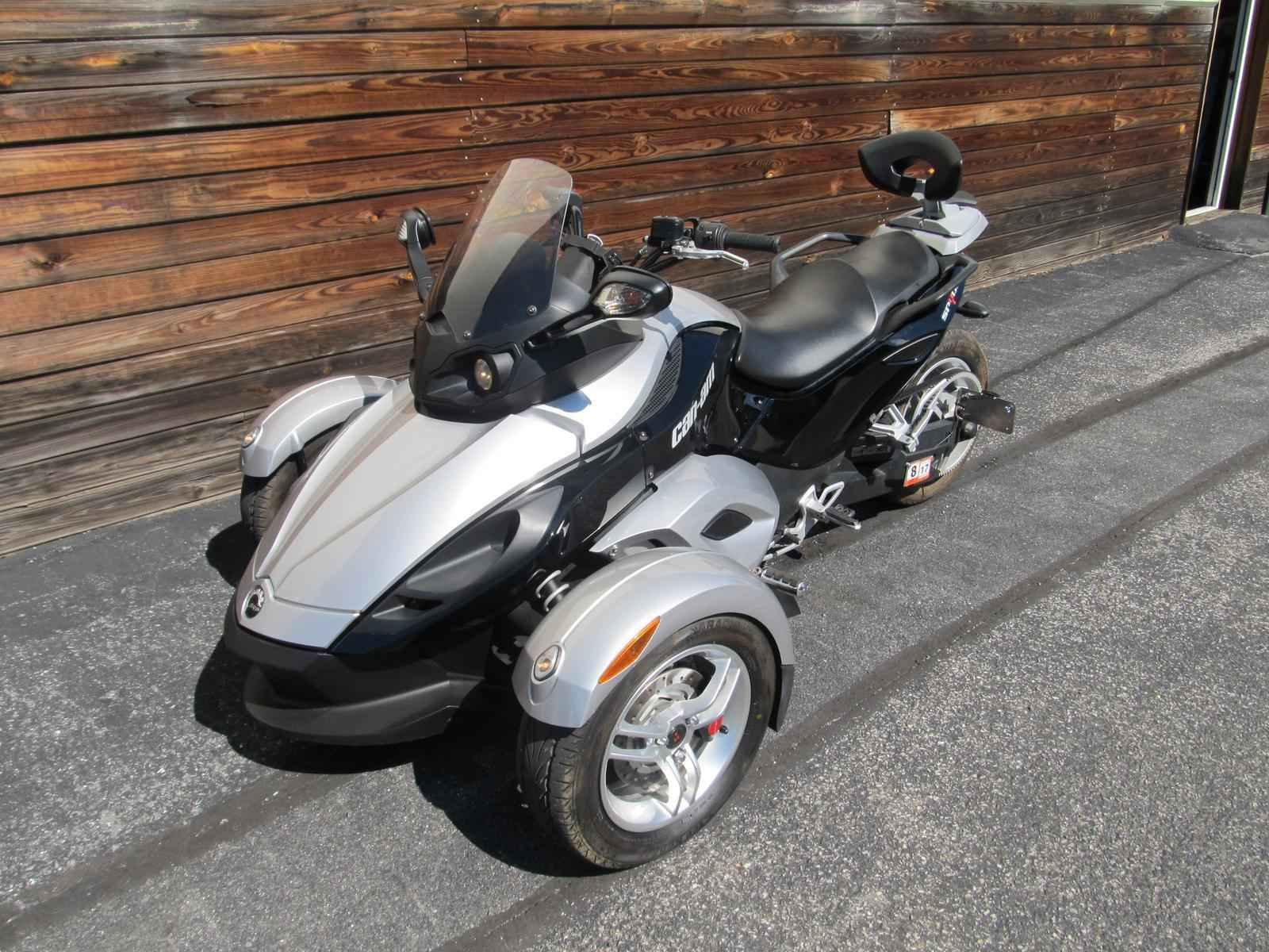 Used 2009 can am spyder sm5 motorcycles for sale in virginia va 2009