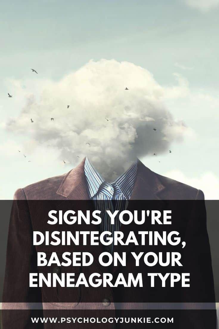 Signs That You're Disintegrating, Based On Your En