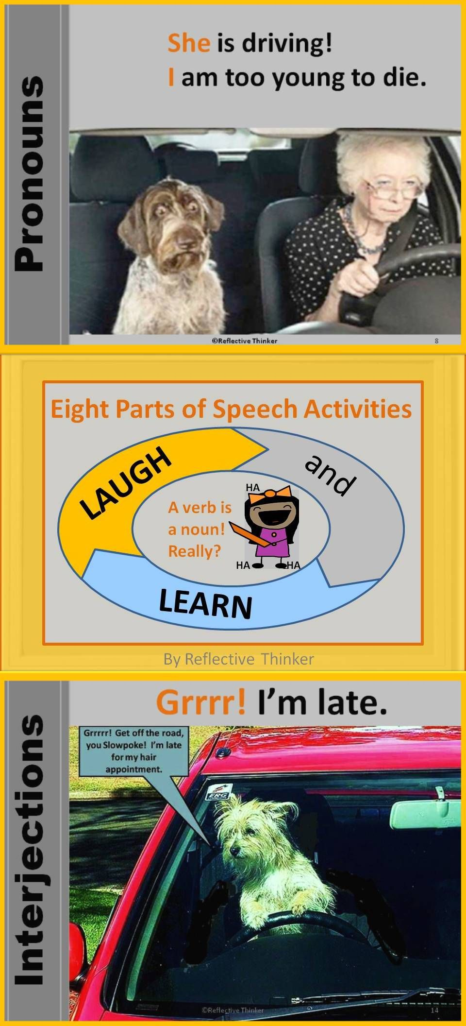 Laugh and Learn: Humorous, Creative, Engaging Parts of