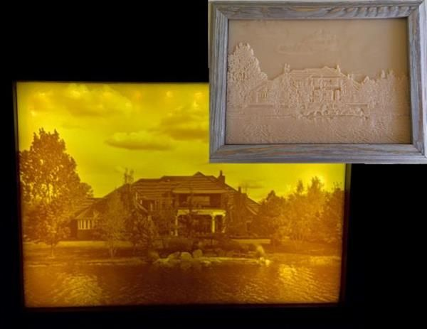 Make Any Photograph 3d With This 3d Printed Lithophane Project 3d Printing Art Prints 3d Printing Projects