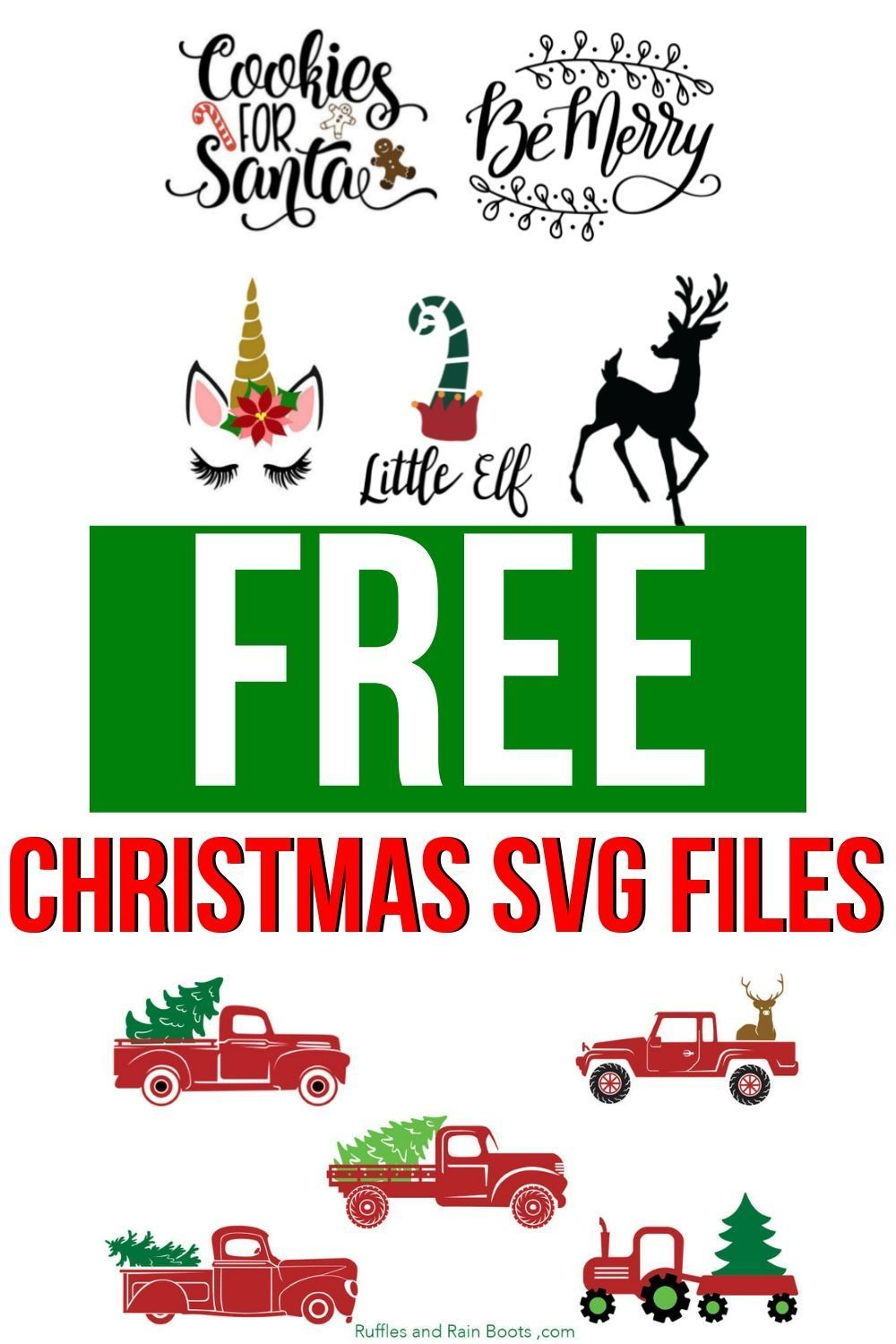 Get These Free SVG Files for Christmas Gifts and C