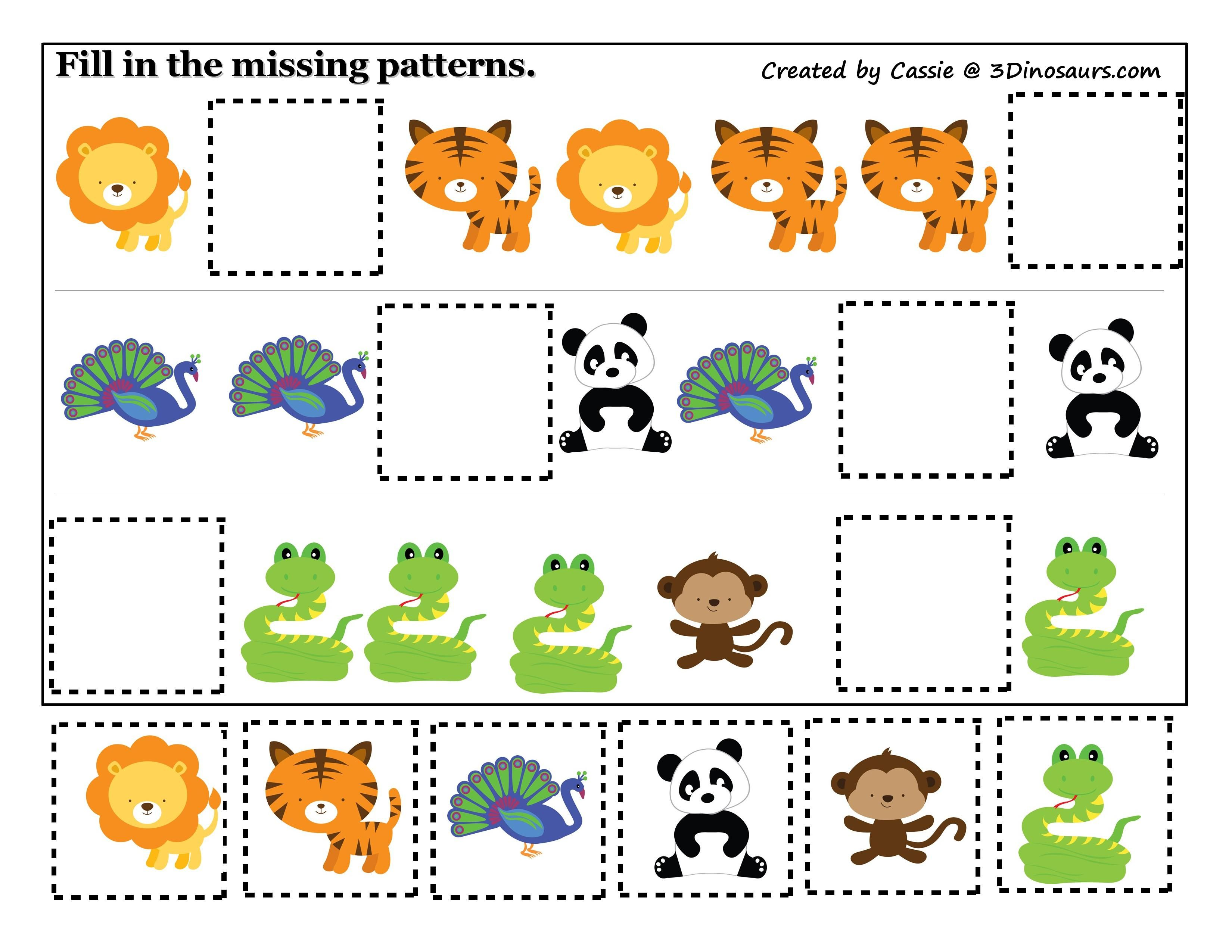 Pin By Reviyye On Postupnost Visual Perceptual Activities Preschool Jungle Preschool Worksheets [ 2550 x 3300 Pixel ]