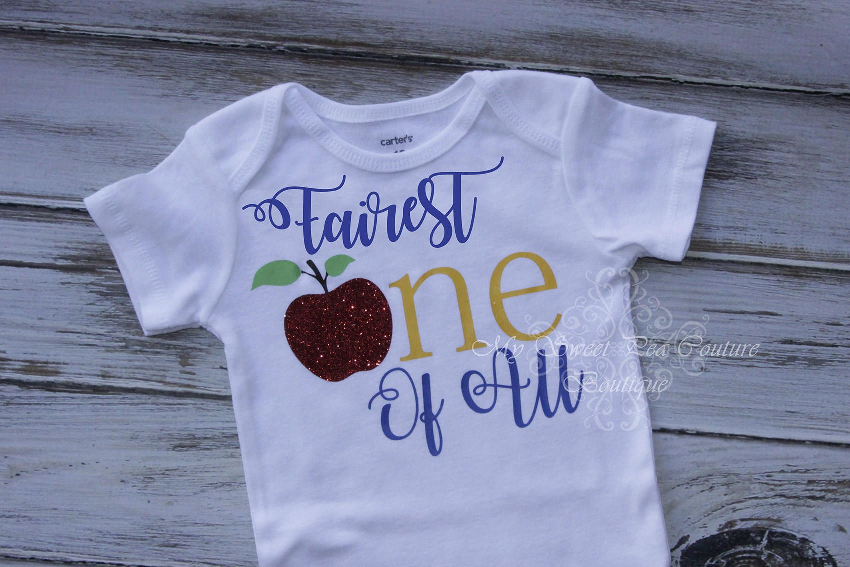 Cake Smash Outfit-Snow White Snow White Birthday First Birthday Outfit Fairest One of All Snow White First Birthday Outfit 1st Birthday