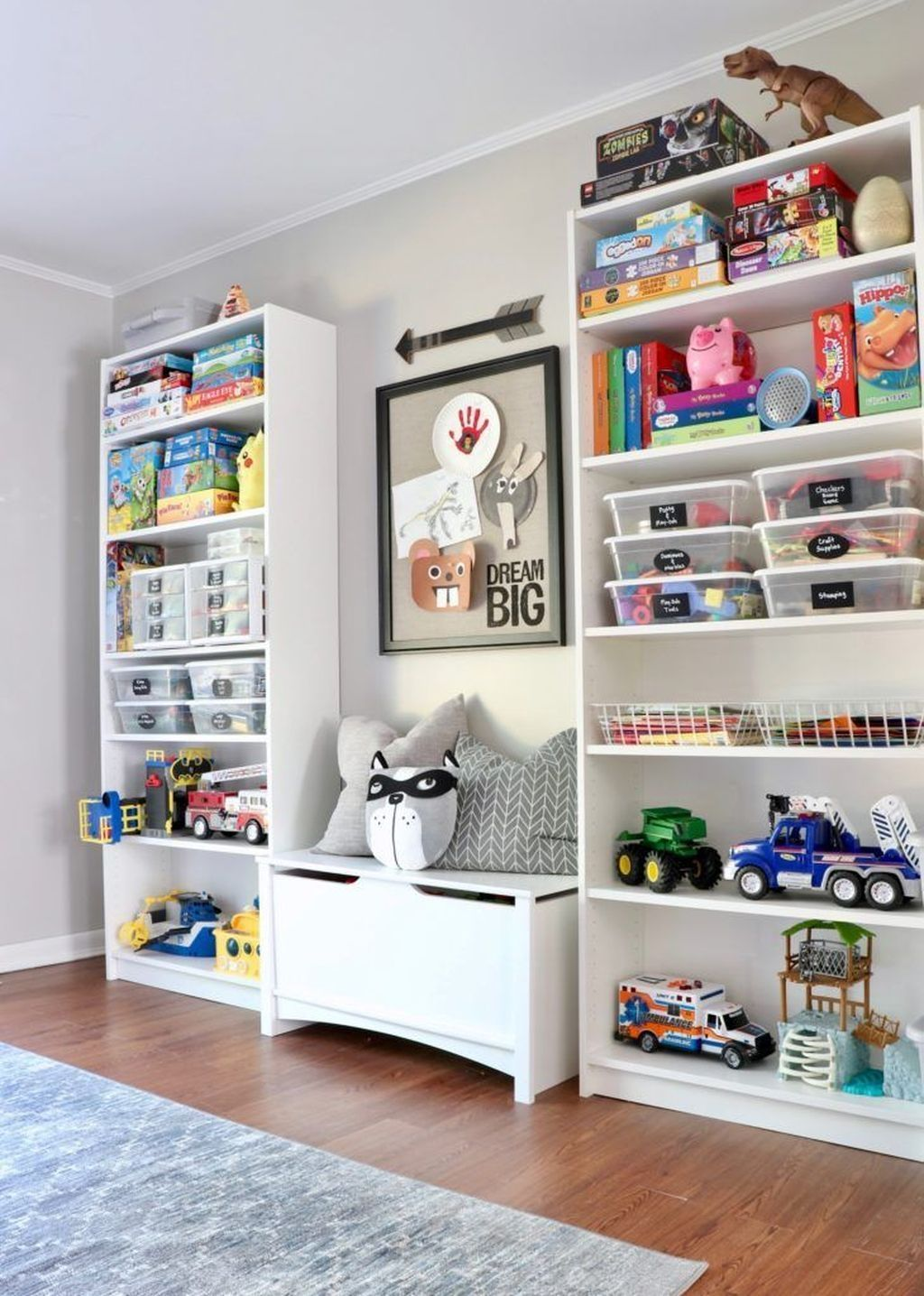 20 PRETTY PLAYROOM DESIGN IDEAS FOR CHILDRENS PLAYROOM