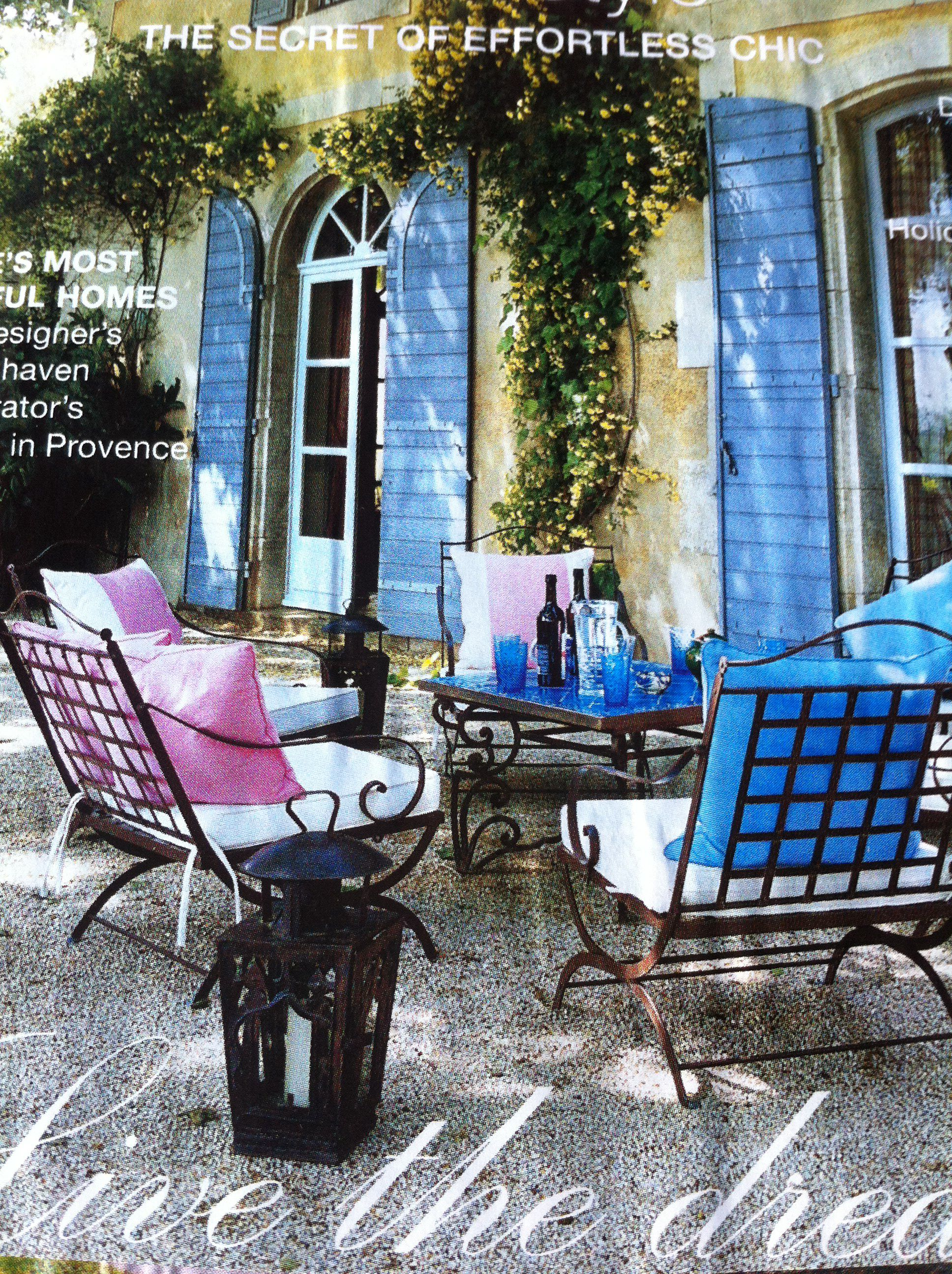 French chic terrace