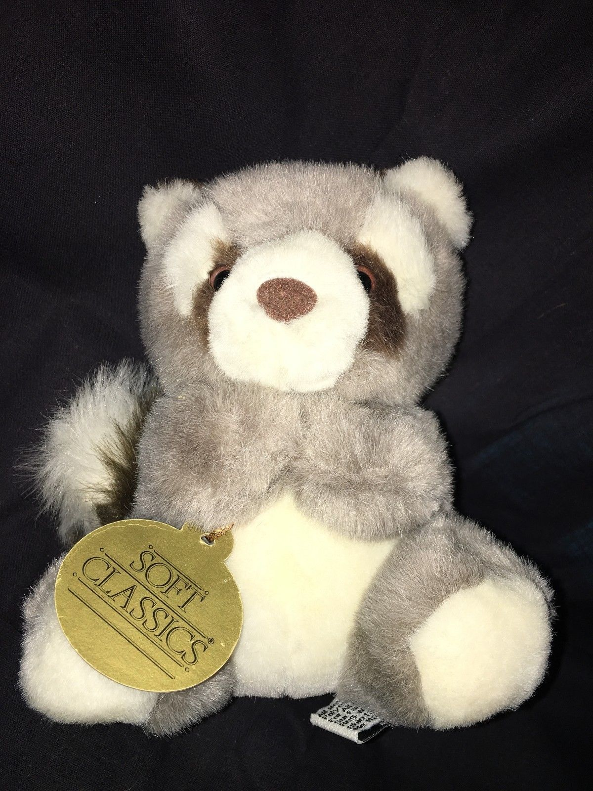 Baby Raccoon Red Panda Toys R Us Soft Classics Plush Stuffed Animal