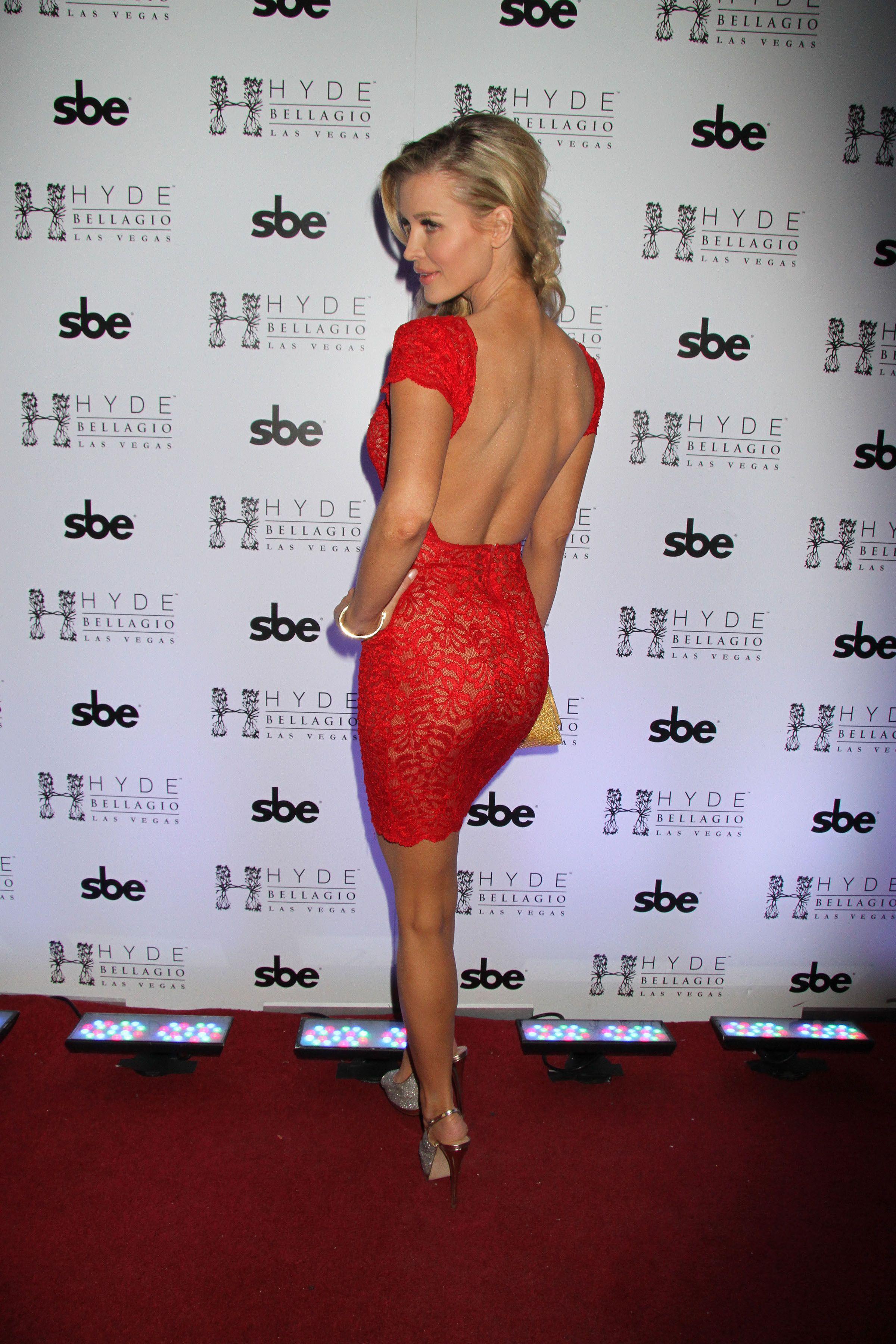 Joanna Krupa – Hosts Hyde Bellagio in Vegas for Super Bowl weekend ...