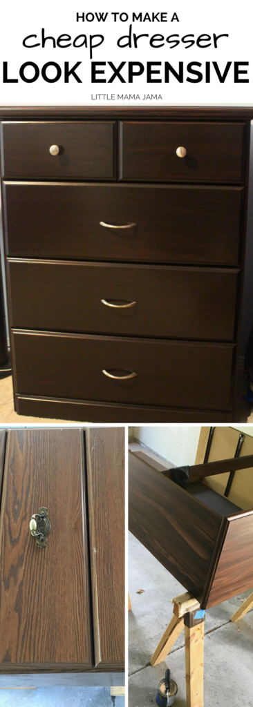 Here S How To Make A Dresser Look Expensive Upcycle An Old With Stain