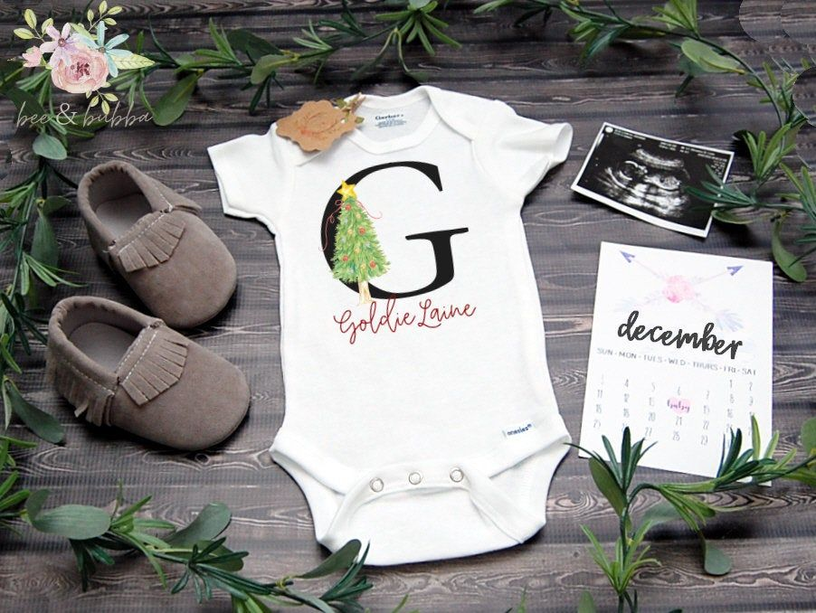 God answers prayers Gerber Pregnancy Announcement Baby Clothes Baby Onesie